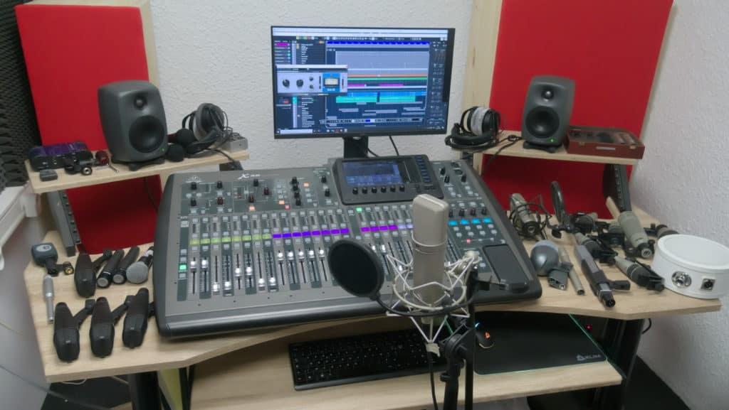 105db - Studio d'enregistrement audio